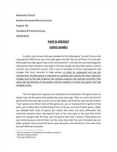 Contrasting essays sample esl dissertation introduction editing websites